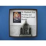 St. Raphael Mini Triptych thumbnail 4
