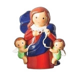 Mary Undoer of Knots Children's Statue