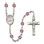 Blessed Jose Canchez Del Rio Purple February Rosary 6mm