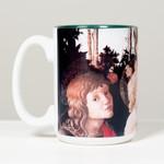 Virgin and Child Boticelli Mug thumbnail 1