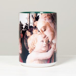 Virgin and Child Boticelli Mug thumbnail 2