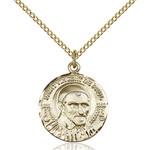 14kt Gold Filled St. Vincent de Paul Pendant