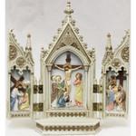 Crucifixion Triptych 8'' thumbnail 1