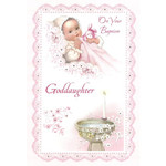 Baptism Greeting Card - Goddaughter