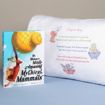 Mr. Mehan's Mildly Amusing Mythical Mammals: A Hypothetical Alphabetical & Personalized Good Night Prayer Pillowcase
