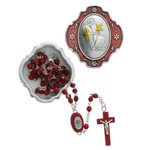 Confirmation Keepsake Box with Red Rosary