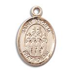 14kt Gold St. Cecilia / Choir Medal