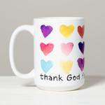 """Thank God for Mommy"" Mug"
