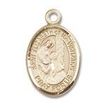 14kt Gold St. Elizabeth of the Visitation Medal