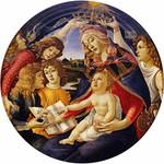 Botticelli Madonna of the Magnificat Keepsake Box
