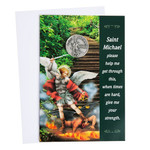 St. Michael Greeting Card thumbnail 1