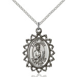 Sterling Silver St. Jude Pendant - 2508300