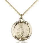 14kt Gold Filled St. Jude Pendant - 2508305