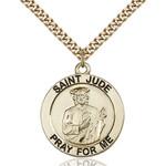 14kt Gold Filled St. Jude Pendant - 2508307