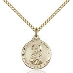 14kt Gold Filled St. Jude Pendant - 2508317