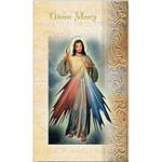 Divine Mercy (chaplet) - Folded Prayer Card