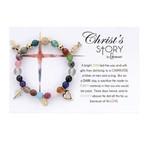 Christ's Story Agate Charm Bracelet