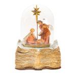 Fontanini Storybook Musical Nativity Globe