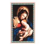 Madonna & Child Cameo Pendant & Novena Card