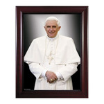 Formal Pope Benedict w/ Cherry Frame thumbnail 1