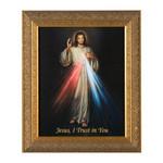 Divine Mercy w/ Gold Frame