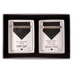 Father of the Bride and Groom Tie Bar Gift Set