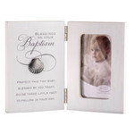 Blessings Shell Baptism Photo Frame