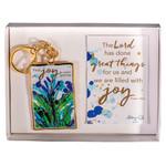 "Find ""Joy"" in Your Journey Keychain"