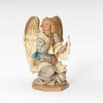 """Fontanini Kneeling Angel Figure 7.5"""" Scale"""
