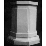 Eight Sided Pedestal 30