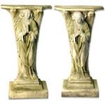 Devotion Angel Pedestals - Set Of 2