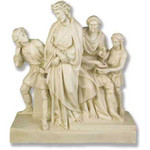 Stations of the Cross Statues, Antique Stone Finish thumbnail 1