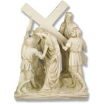 Stations of the Cross Statues, Antique Stone Finish thumbnail 5