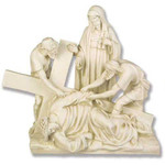 Stations of the Cross Statues, Antique Stone Finish thumbnail 9