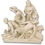 Stations of the Cross Statues, Antique Stone Finish thumbnail 11