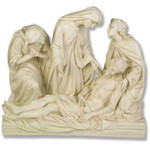 Stations of the Cross Statues, Antique Stone Finish thumbnail 13