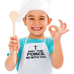 """""""Force Be With You"""" Kids Apron"""