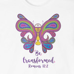 """Be Transformed"" First Communion T-Shirt for Girls"