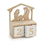 Nativity Block Countdown Calendar