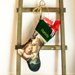 Personalized Madonna and Child Christmas Stocking