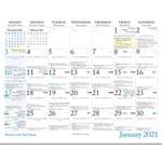 Catholic Faith Inspirational 2021 Wall Calendar