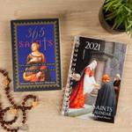 365 Saints Book & 2021 Saints Calendar and 16 Month Planner (Gift Set)