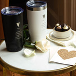 """The Greatest of These"" His & Hers Insulated Tumblers Set"