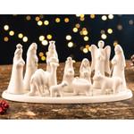 Belleek Modern Nativity - 12 Pieces