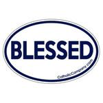 Blessed Bumper Sticker