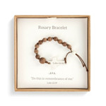 Cherished Blessing Boys Rosary Bracelet