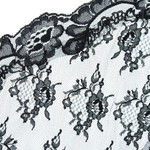 Black Lace Chapel Veil - Small thumbnail 3