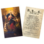 Mary Undoer of Knots Pope Francis' Prayer Card, Laminated Pack of 25 thumbnail 1