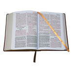 Brown Large Font New Catholic Bible - DuraLux