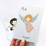 Catholic ABC's Laminated Prints- Set of 26